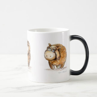 Magic mug. Tree little sheep. Magic Mug