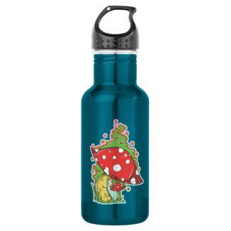 Magic Mushroom 18oz Water Bottle