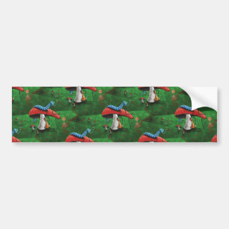 Magic Mushroom Bumper Sticker