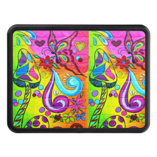 magic mushroom butterfly trailer hitch trailer hitch cover