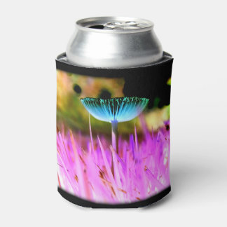 Magic Mushroom: Colorful Psychedelic PNW Fungus Can Cooler