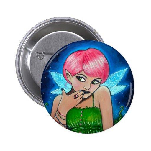 Magic Mushroom Faery Pins