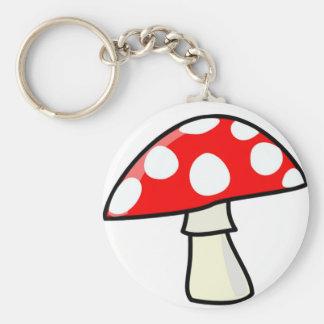 Magic Mushroom Keychain