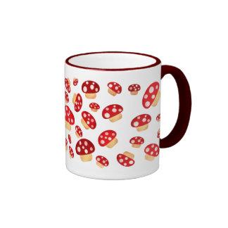 Magic Mushroom Mania Ringer Mug