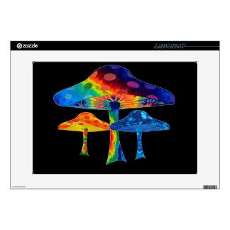Magic Mushrooms Decals For Laptops