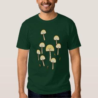 Magic Mushrooms Doodle Art T Shirt