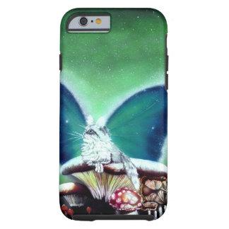 Magic Mushrooms Fairy Cat Phone Case