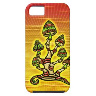 Magic Mushrooms - hechizos hongos iPhone 5 Funda
