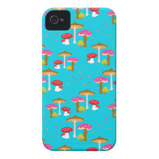 """""""Magic Mushrooms II"""" iPhone 4 Barely There Case"""