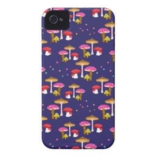 """""""Magic Mushrooms"""" iPhone 4 Barely There Case"""