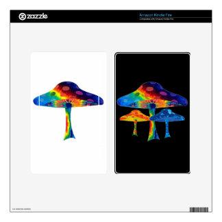 Magic Mushrooms Kindle Fire Skin