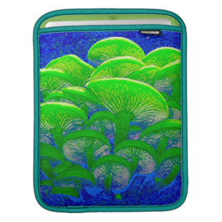 Magic Mushrooms Psychedelic Digital Art Sleeves For iPads