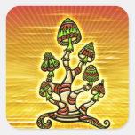 Magic Mushrooms - Zauber Pilze Sticker