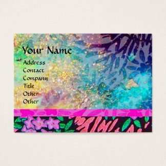 MAGIC MYRTLE / Sparkling Gold Reflections Business Card