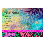 MAGIC MYRTLE / Sparkling Gold Reflections Large Business Cards (Pack Of 100)