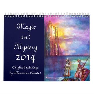 MAGIC & MYSTERY 2014 WALL CALENDAR
