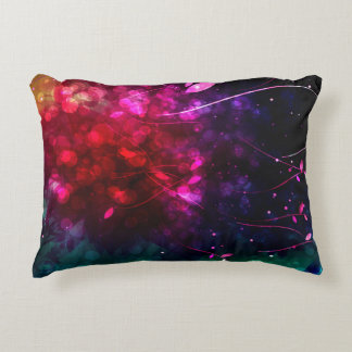 "Magic night A Cotton Accent Pillow 16"" x 12"""