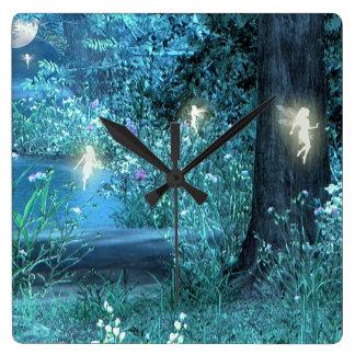 Magic night Fairy Clock