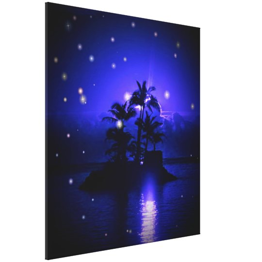Magic Night Wrapped Canvas