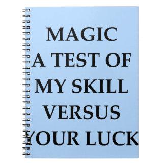 magic note books