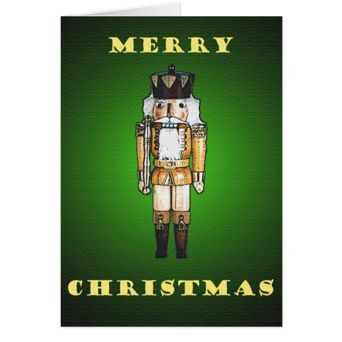 Magic Nutcracker Christmas Card