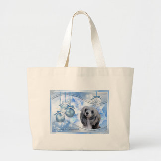 Magic of Christmas Chinese Crested Tote Bag