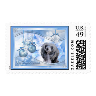 Magic of Christmas Chinese Crested Stamps