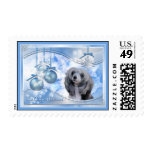 Magic of Christmas Chinese Crested Postage Stamps