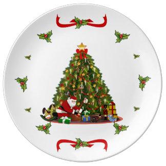 Magic of Christmas Dinner Plate