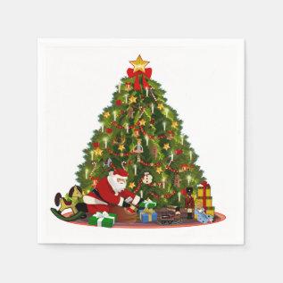 Magic Of Christmas Paper Napkin at Zazzle