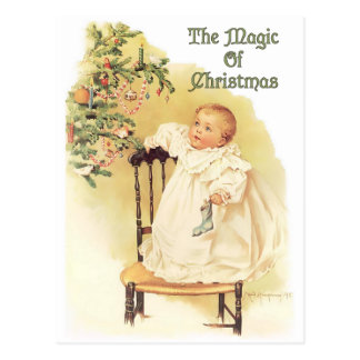 Magic of Christmas Postcard