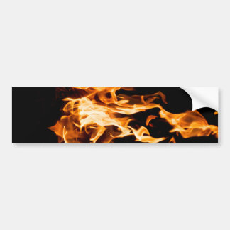 Magic of fire bumper sticker