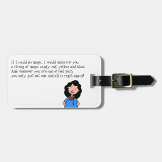 Magic of Friendship Luggage Tag