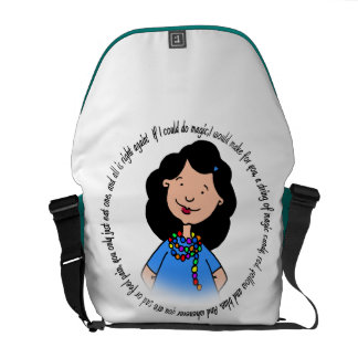 Magic of Friendship Messenger Bag