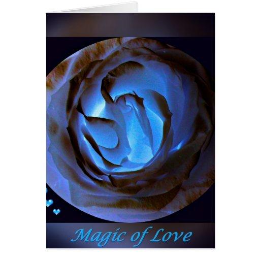 Magic OF Love.jpg Greeting Card