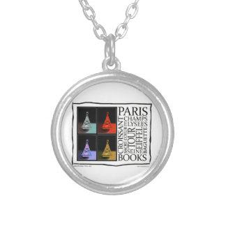 Magic of Paris Round Pendant Necklace