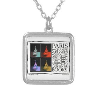 Magic of Paris Square Pendant Necklace