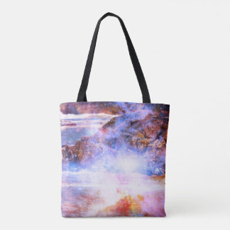 Magic of Turtle Beach Tote Bag