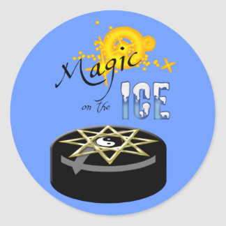Magic On The Ice Sticker