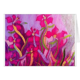 Magic Orchids Card