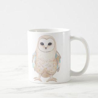 Magic Owl Mug Beautiful Owl illustration Graphic