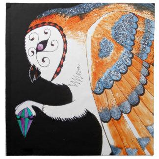 Magic Owl Napkin