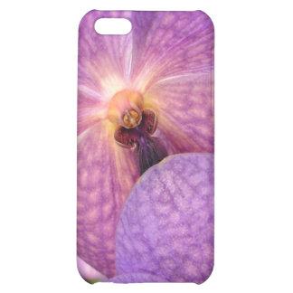 Magic Pale Violet Orchids Case For iPhone 5C