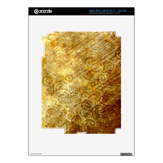 Magic Parchment iPad 3 Decal