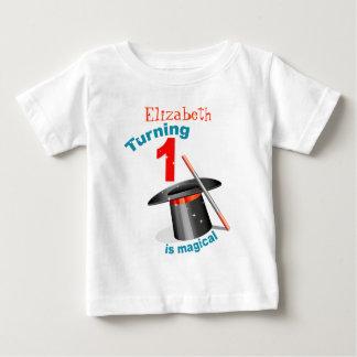 Magic Party 1st Birthday Baby T-Shirt