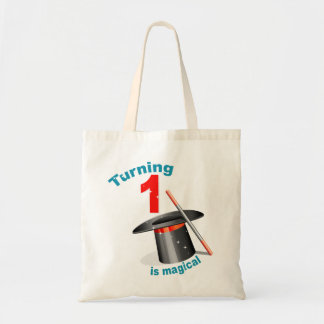 Magic Party 1st Birthday Tote Bag