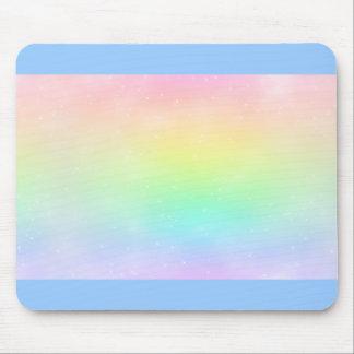 Magic Pastel Rainbow Mousepad