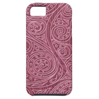 Magic Pattern spiral Cashmere Rose iPhone SE/5/5s Case