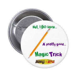 Magic Pencil buttom Pinback Button