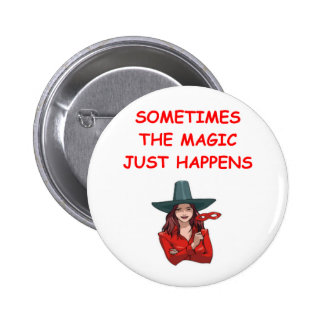 magic pinback button